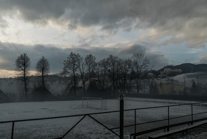 Kalwaria spowiła się smogiem