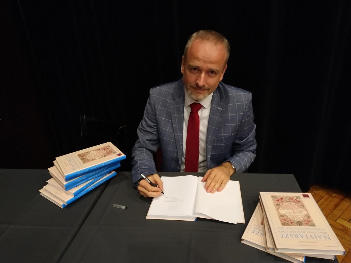 """Wykład dr. hab. Tomasza Graffa inauguruje powrót """"Wadovianów"""" na salę kameralną"""