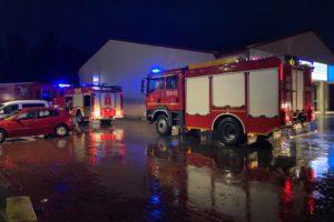 Opady deszczu znów powodują podtopienia, OSP wyjechały na akcje