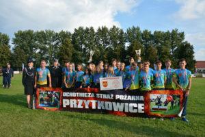 Młodzieżowa Drużyna Pożarnicza z OSP w Przytkowicach zdobyła Mistrzostwo Polski