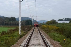 W niedzielę Leńczach pociąg potrącił pieszego
