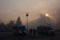 Smog w Kalwarii - - 5 luty 2019 r. godz. ok. 8-10 - fot. Andrzej Famielec IMGP3365