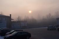 Smog w Kalwarii - - 5 luty 2019 r. godz. ok. 8-10 - fot. Andrzej Famielec IMGP3367