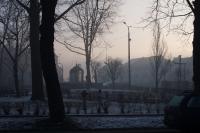 Smog w Kalwarii - - 5 luty 2019 r. godz. ok. 8-10 - fot. Andrzej Famielec IMGP3373